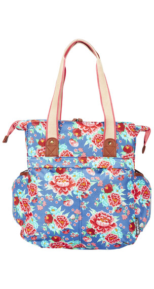 Basil Bloom Shopper indigo blau